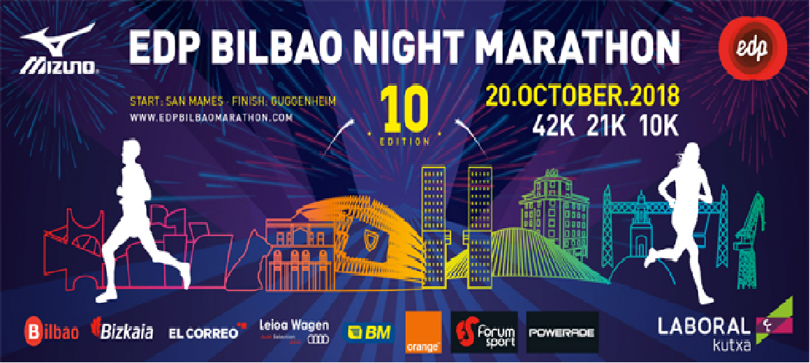 Bilbao Night Marathon 2018